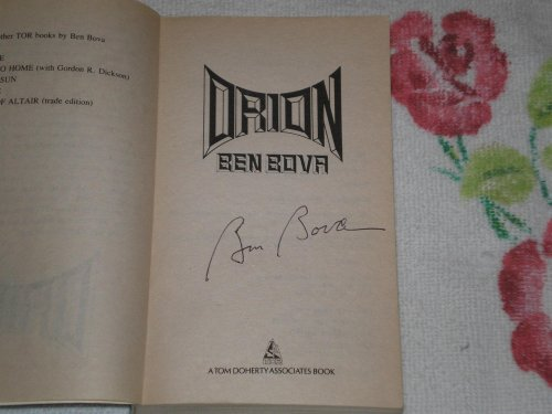 Orion By Dr Ben Bova