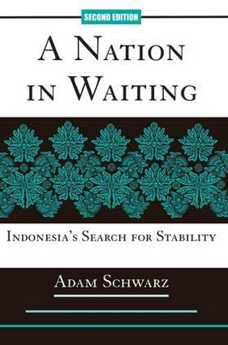A Nation In Waiting, Second Edition By Adam Schwarz