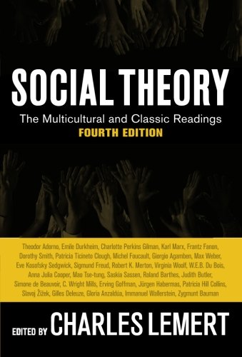 Social Theory By Prof Charles Lemert