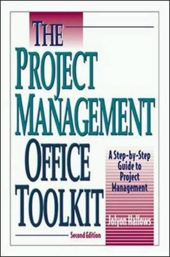 The Project Management Office Toolkit By Jolyon Hallows