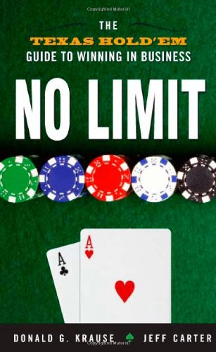 No Limit By Donald G. Krause