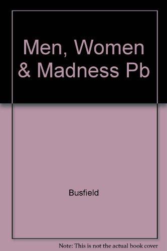Men, Women & Madness Pb By Joan Busfield (University of Essex)