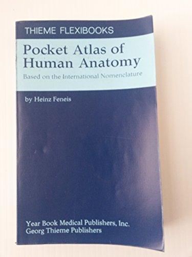 Pocket Atlas Of Human Anatomy By Feneis Heinz Paperback Book The