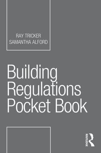 Building Regulations Pocket Book By Ray Tricker (Herne European Consultancy Ltd, UK)