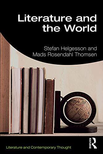 Literature and the World par Stefan Helgesson (Stockholm University, Sweden)