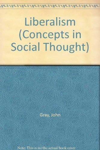 Liberalism By John Gray