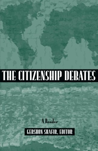 Citizenship Debates By Gershon Shafir