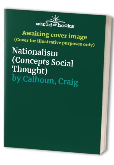 Nationalism By Craig Calhoun