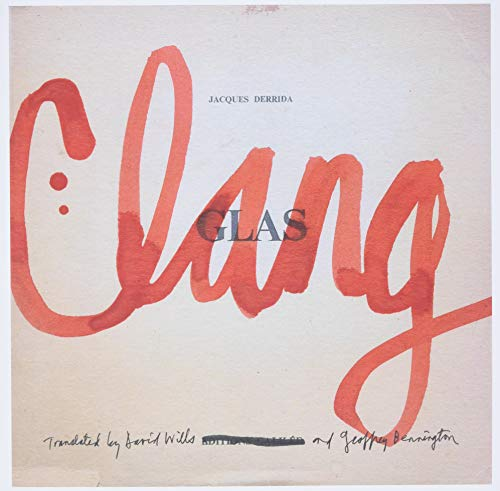 Clang By Jacques Derrida