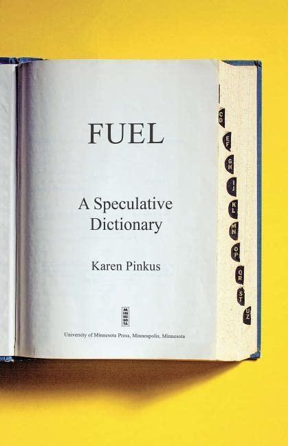 Fuel By Karen Pinkus