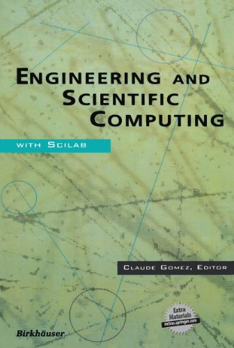 Engineering and Scientific Computing with Scilab By Contributions by C. Bunks