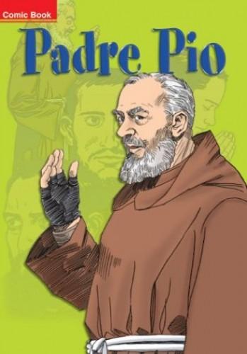 Padre Pio Comic Book By Fabio Fenzo