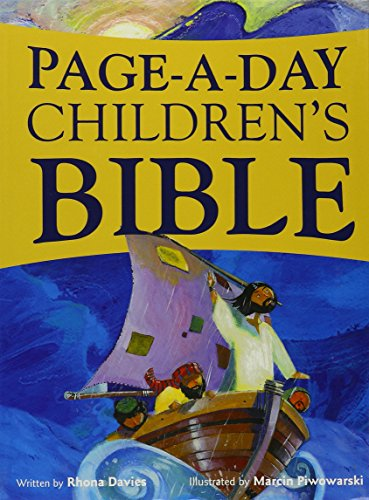 Page a Day Children's Bible By Rhona Davies
