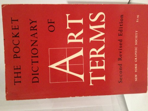 Pocket Dictionary Of Art Terms Edited by Julia M. Ehresmann