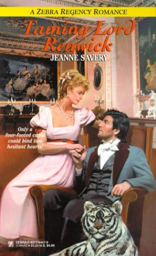 Taming Lord Renwick By Jeanne Savery