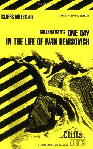 "Notes on Solzhenitsyn's ""One Day in the Life of Ivan Denisovich"" By Franz G. Blaha"