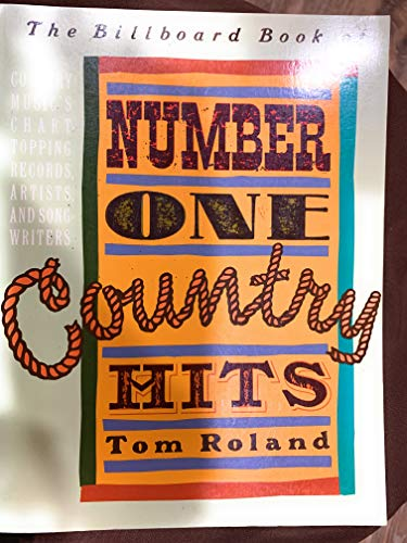 Billboard Book of Number One Country Hits By Joel Whitburn