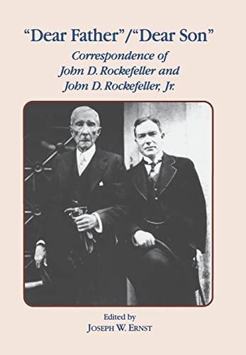 Dear Father, Dear Son By J. W. Ernst