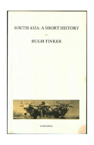 South Asia By Hugh Tinker
