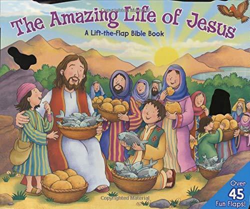 Amazing Life of Jesus: Lift-The-Flap By Allia Zobel-Nolan