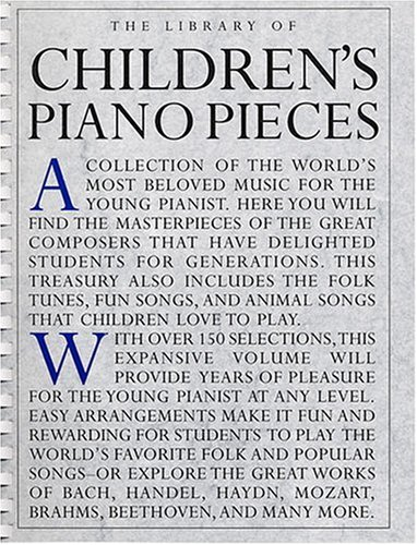 The Library of Children's Piano Pieces By Appleby