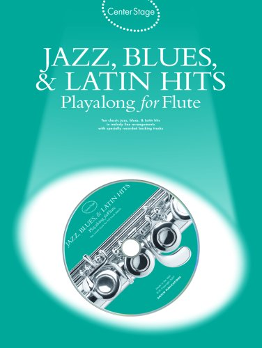 Jazz, Blues & Latin Hits Play-Along: Center Stage Series