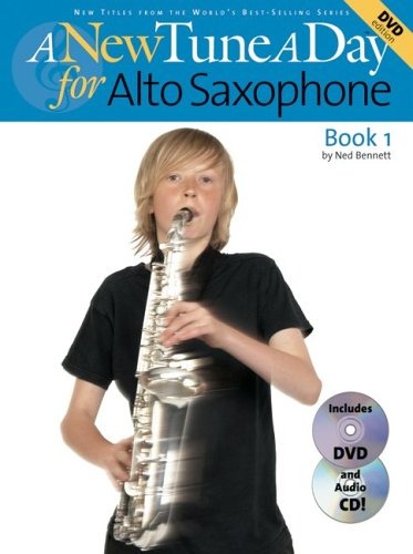 A New Tune a Day Book 1 Alto Saxophone by Ned Bennett