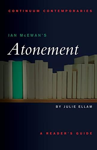 """Ian McEwan's """"Atonement"""" par Julie Ellam"""