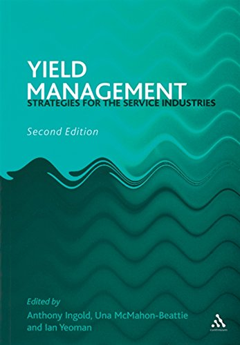 Yield Management By Anthony Ingold (Consultant)