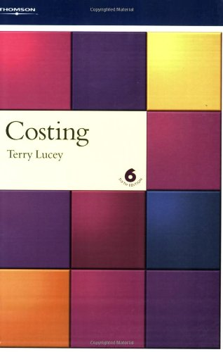 Costing By T. Lucey