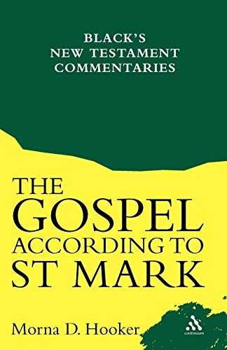 The Gospel According To St. Mark (Black's New Te... by Morna D. Hooker Paperback