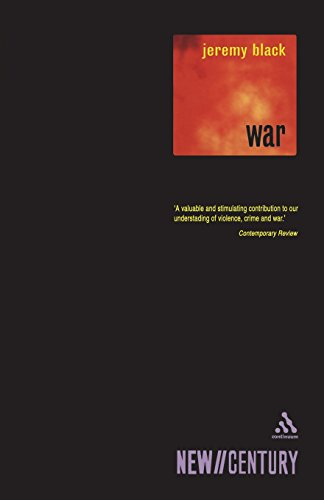 War: Past, Present, Future by Professor Jeremy Black