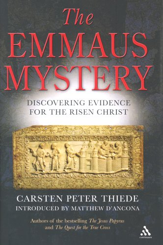 The Emmaus Mystery By Carsten Peter Thiede