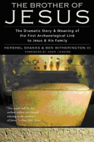 Brother of Jesus By Hershel Shanks