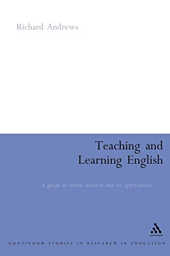 Teaching and Learning English By Richard Andrews