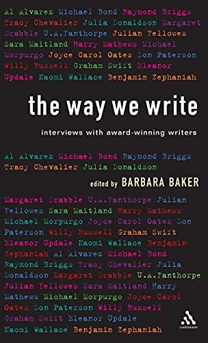 The Way We Write By Barbara Baker
