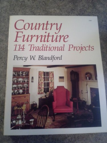 Country Furniture By Percy W. Blandford