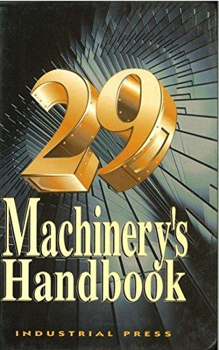 Machinery's Handbook By Erik Oberg