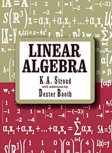 Linear Algebra By K. A. Stroud