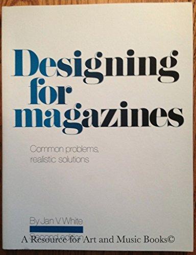 Designing for Magazines By Jan V. White
