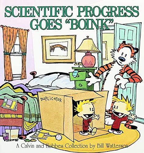 Scientific Progress Goes Boink By Bill Watterson