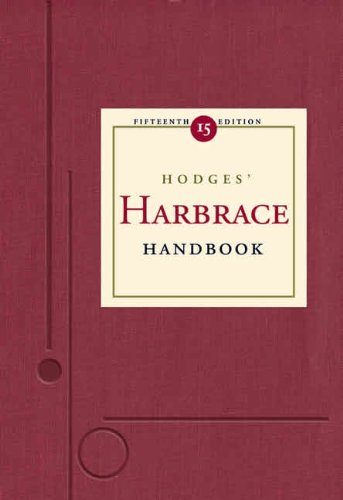 Hodges' Harbrace Handbook By Cheryl Glenn