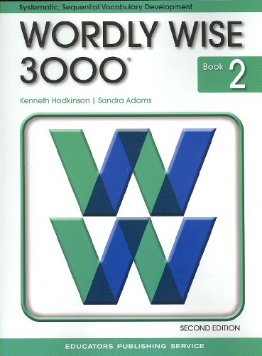 Wordly Wise 3000 Book 2 By Other Kenneth Hodkinson