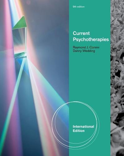 Current Psychotherapies, International Edition By Danny Wedding