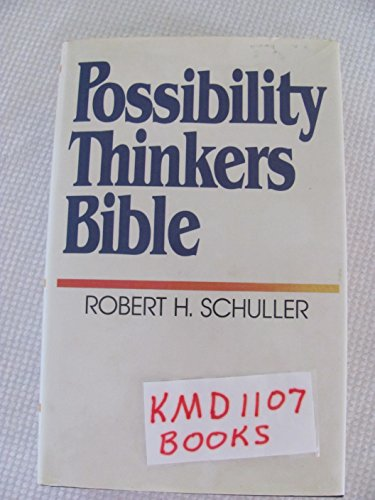 Possibility Thinkers Bible By Thomas Nelson Publishers