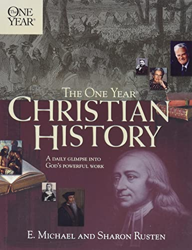 One Year Christian History The One Year Books By Sharon border=
