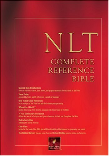 Complete Reference Bible-Nlt-Hand Size By Tyndale House Publishers