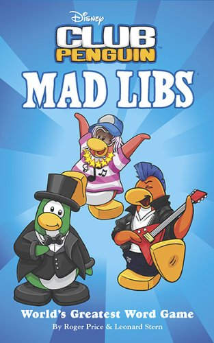Disney Club Penguin Mad Libs By Roger Price