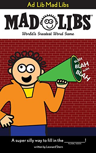 Ad Lib Mad Libs By Roger Price