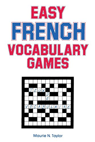 Easy French Vocabulary Games By R. Sales